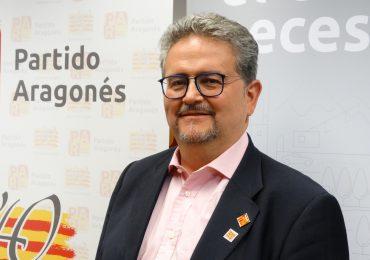Carrera (PAR) anuncia que el Partido Aragonés va a seguir trabajando por Huesca y los oscenses
