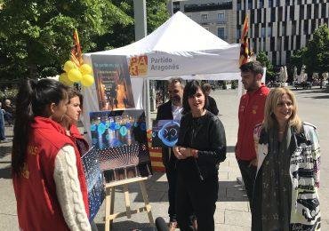 Elena Allué propone un Festival de la Luz para reforzar el atractivo de las calles comerciales de Zaragoza