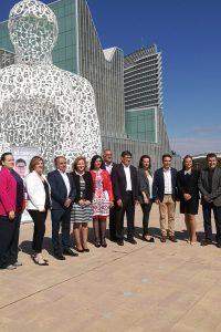 Aliaga reclama un proyecto de centro para Aragón alejado de las tensiones nacionales