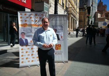 """Esteban: """"El Ayuntamiento tiene que facilitar la vida al ciudadano, al empresario y al comerciante"""""""