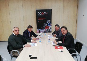 Aliaga se compromete a elaborar un plan estratégico 2020/2025 para el sector de la automoción en Aragón