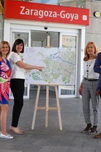 Elena Allué propone un gran Eje Transversal para mejorar la movilidad de Zaragoza