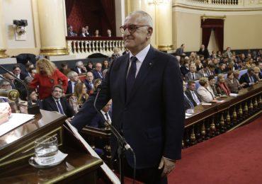 Clemente Sánchez-Garnica (PAR)  toma posesión de su escaño en la sesión constitutiva de la XIV legislatura
