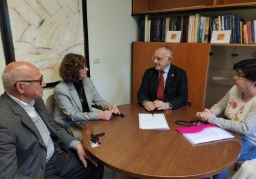 Sánchez-Garnica (PAR) se reúne con vecinos de Pina para abordar medidas preventivas frente a futuras crecidas del Ebro