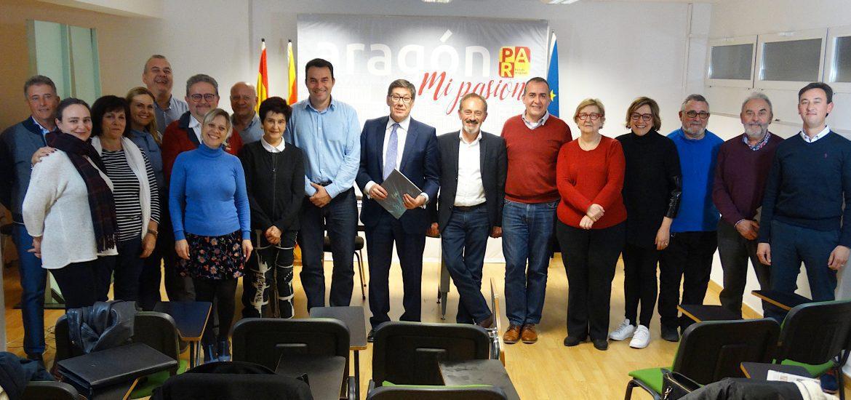Arturo Aliaga reivindica en Huesca al PAR como fuerza política útil al servicio de los aragoneses