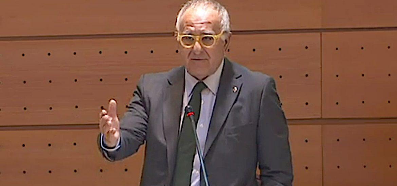 Sánchez-Garnica (PAR) reclama en el Senado la ejecución completa de la Autovía A-23 por Sabiñánigo y Jaca
