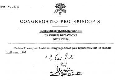 El PAR reivindica la unidad en la defensa de Aragón al cumplirse el 25 aniversario de la modificación de los límites diocesanos