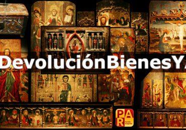 Jesús Guerrero: «Hoy es un día muy importante para Aragón. El retorno de los 111 bienes es el triunfo del estado de Derecho»