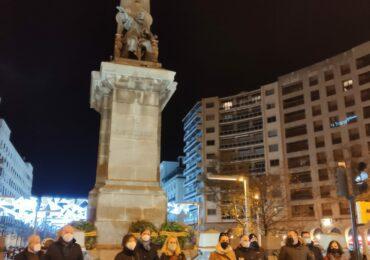 El PAR rinde homenaje a la institución del Justicia de Aragón con una ofrenda floral