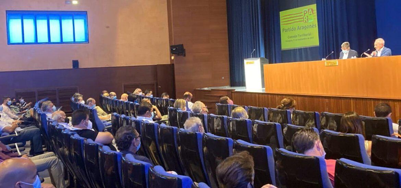 El Consejo Territorial del Partido Aragonés confirma por unanimidad la convocatoria del XV Congreso del PAR