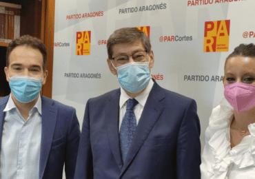 """Guerrero (PAR): """"El PAR es una pieza clave para lograr los fondos europeos que permitan conectar los valles del Aragón y de Tena"""""""