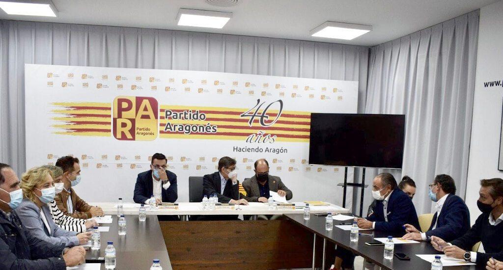 La nueva Comisión Ejecutiva del Partido Aragonés impulsa la renovación de todos los órganos territoriales del partido