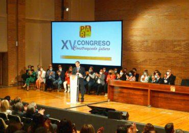 Arturo Aliaga clausura el XV Congreso y ofrece un proyecto de centro serio, sincero, sólido, con ambición y con los valores del PAR